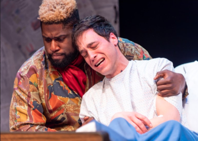 Dudney Joseph & Ben Michael Moran in Angels in America