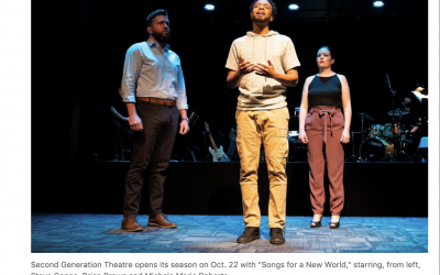 Second Generation Theatre: Building a new season on pandemic lessons learned